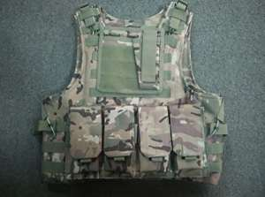 Multicam Camo Tactical Vest Molle system Armor best multi duck (japan import)