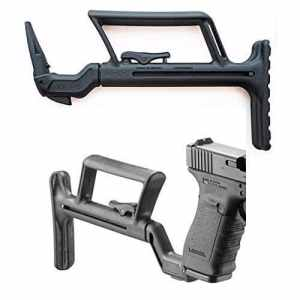 Richlogic Conversion de Carabine pour Glock (G17/G18/G19) -pour Faire Une Carabine (la Crosse de Fusil)