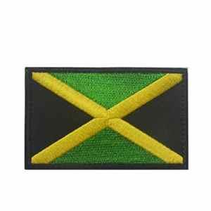 Rungao Écussons brodés thermocollants ou à coudre à motif de drapeaux 3D, #9
