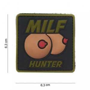 Patch 3D PVC Milf hunter OD