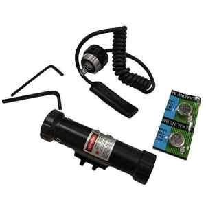 Suphunter Tactical Red Dot Laser Sight Montage sur Interrupteur Double Interrupteur De Pression