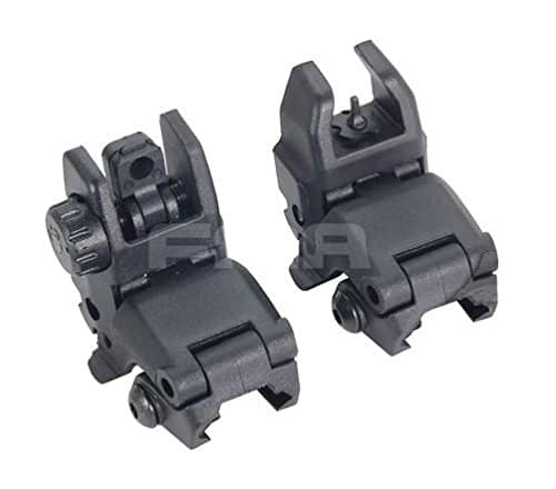 AIRSOFT FMA MBUS GEN 1 BACK UP SIGHTS M4 IRON SIGHT BLACK MBUIS BUIS PTS UK