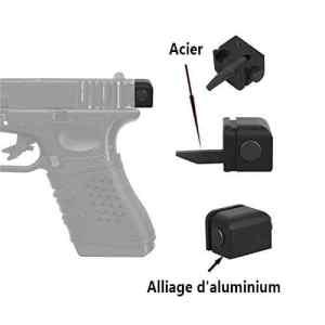 Richlogic Conversion de Carabine pour Glock (G17/G18/G19) -pour Faire Une Carabine (Semi-Automatique commutateur)