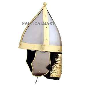 romain Auxillary Archer casque–Taille Unique–métallique Armour par Nauticalmart