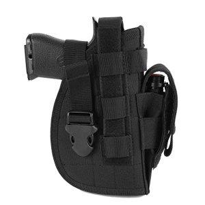 Leezo Pistolet modulable de Type Holster 1000D Nylon Universel pour droitier