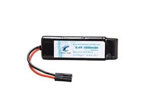 Ocean Loong Mini Batterie Plate NiMH 8,4 V 1600 mAh avec Mini connecteur Tamiya