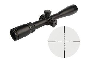 FOCUHUNTER Cobra Fangs Airsoft Lunette de Visée 8-32X50mm SF Lunette de Tir Sniper Rapide Télémètre Réticule avec Libre 20mm/11mm Picatinny Montage de Rail pour Tactique Chasse