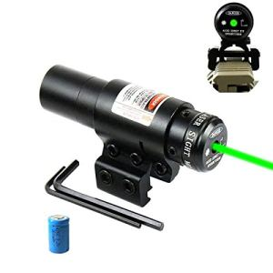 Hauska Airsoft Pointeur Laser Vert Picatinny 11 / 20mm Rail Mount