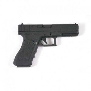 Airsoft Cyma G18 Pistolet Electrique Automatique Cm030 (0.5 joule) Noir Culasse Métal