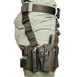 BLACKHAWK! Serpa Level 2 Tactical Black Holster, Size 04, Right Hand, (Beretta 92/96/M9 Std or A1 w/rails (NOT Brig/Elite)