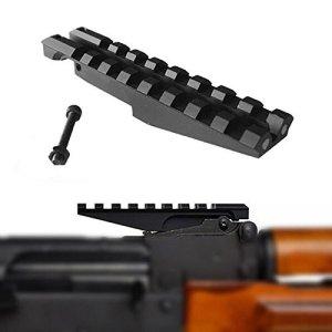 FIRECLUB Low Profile Picatinny Scope Mount for AK Series Rifles AK Rear Sight