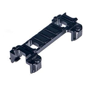 FOCUHUNTER Aluminium Tactique Profil Bas Rail 20mm Weaver/Picatinny Rail Base Adaptateur pour MP5 G3 (9)