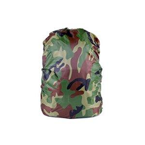 Forfar Sac à dos pluie Dust Cover De plein air Imperméable Sac à dos Camouflage Anti-poussière Rucksack Couverture de pluie pour la randonnée / Voyage / Camping