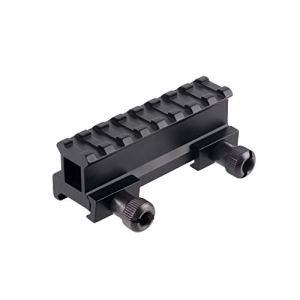 ToopMount Rail de Fusil Montage Tactique Support de Montage sur Socle D0015 en Alliage d'aluminium de 21 mm pour Montage sur Rail Picatinny/Weaver
