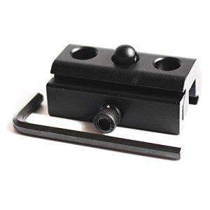 Noga 20 mm bipode Sling Adaptateur pivotant avec 20 mm Picatinny Weaver Rail Mount Converter Accessoires de Chasse