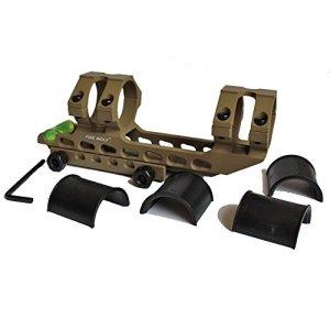 Noga 30/25,4 mm Offset Picatinny tisserand Chasse Fusil portée Anneaux Montage bidirectionnel avec des Supports de Rail de Niveau à Bulle