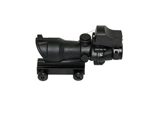 Nuprol WE Airsoft ACOG 4 X 32 + DR Red Dot Sight Black Telescopic 7003