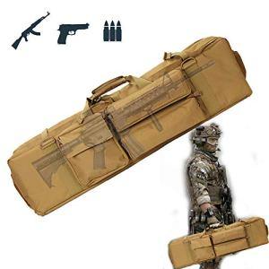 TBDLG Sac Tactical Double Rifle, Fusil à Air/Fusil de Chasse Rembourée Sac Tactical, pour Arme Longue Protection de Réplique Airsoft