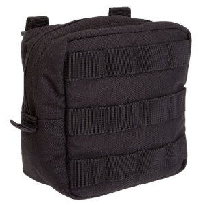 5.11 Tactical 6 x 6 Padded Pouch – Black – Black