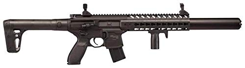 Sig Sauer MCX ASP Black mitraillette Semi-Automatique Co2 Balines 4,5 mm – 0,5 Joules
