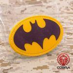 Cobra Tactical Solutions Military Patch Batman Cosplay Patch Motivational Military avec Fermeture Velcro pour Airsoft/Paintball pour vêtements Tactiques et Sac à Dos