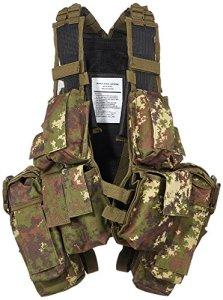 Gilet de combat RSA – Camouflage WL Végétato – Miltec