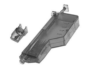 NEEZ – BB Speed Loader Airsoft, Combat Tactical Militaire Quick Chasse, Outils de chargement pour 90,155,500 chargeurs BB haute capacité, BB Loader 155-Black, 10