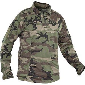 Valken – Tactical Tango Combat Maillot – Camouflage (Woodland) – L