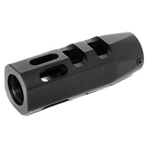 Airsoft Accessories APS 62mm Evolution Tech Muzzle Brake FlashHider 1.1-14mm CCW Threading Filetage Anti-horaire pour AEG GBB