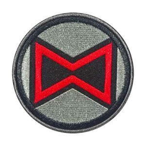 Cobra Tactical Solutions Military Patch BLACK WIDOW AVENGERS LOGO Motivational Military Patch avec Fermeture Velcro pour Airsoft/Paintball pour vêtements Tactiques et Sac à Dos