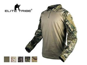Elite Tribe Emerson Gen3 Combat Chemise Camo pour des Hommes Tactique Hauts Chasse BDU Chemise (Multicam Tropic, XX-Large)