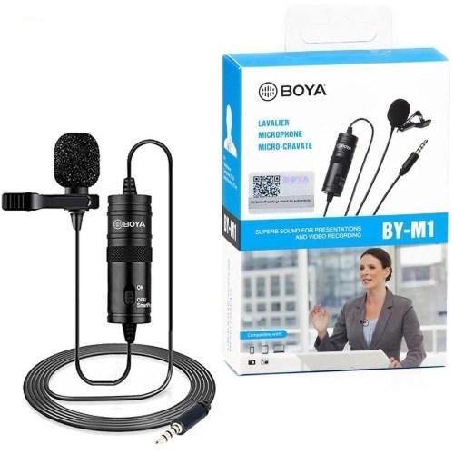 Microfone de lapela Boya BY-M1