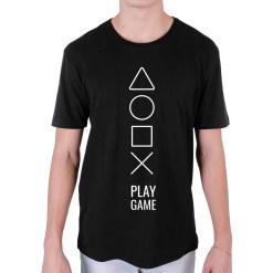 Camiseta Play Game - Loja Nerd