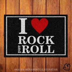 Capacho I Love Rock 'n Roll