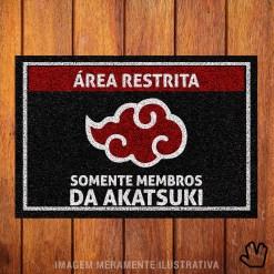 Capacho Naruto Somente Membros da Akatsuki