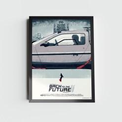 Quadro De Volta Para o Futuro DeLorean II