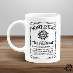 Caneca Winchesters Supernatural