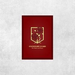 Placa Decorativa Attack on Titan - Tropas Estacionárias - Loja Nerd
