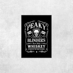 Placa Decorativa Peaky Blinders - Loja Nerd