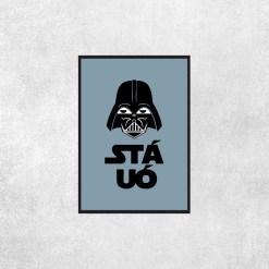 Placa Decorativa Star Wars - Sta Uó - Loja Nerd