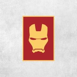 Placa Decorativa Iron Man - Loja Nerd