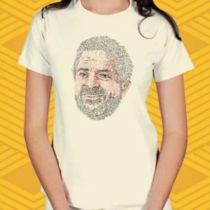 Camiseta Lula Cadê a Prova? Baby Look