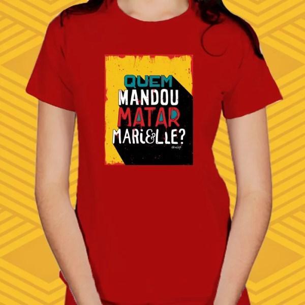Camiseta Marielle Baby Look