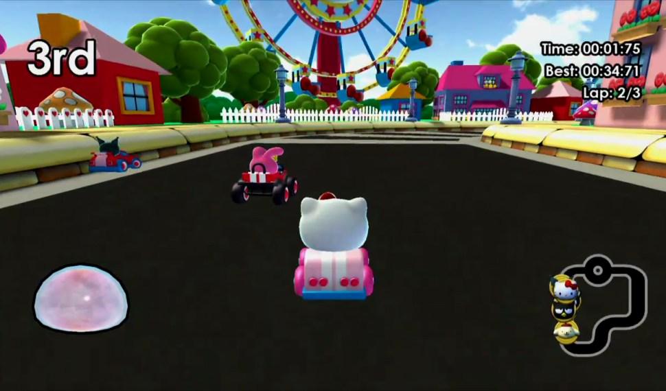El juego de Hello Kitty abre la pista en Nintendo Switch
