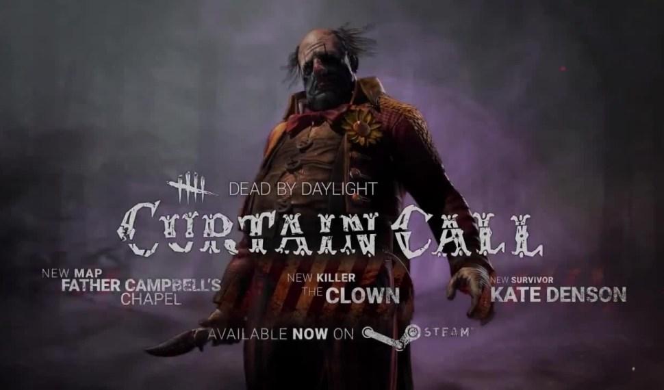 Dead by Daylight: Curtain Call – Ya disponible en Consola para Europa y Norteamérica