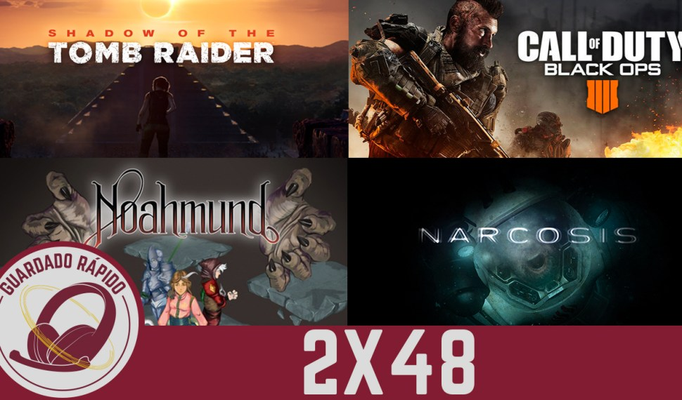 GR (2×48) Red Dead Redemption 2, CoD: Black Ops 4, Shadow of the Tomb Raider, Noahmund, Narcosis.