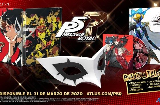 Persona 5 Royal incluirá textos de pantalla en castellano
