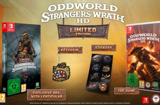 "Desvelada la ""Limited Edition"" de Oddworld: Stranger's Wrath HD para Nintendo Switch"