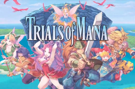 Imagenes de las localizaciones de Trials of Mana