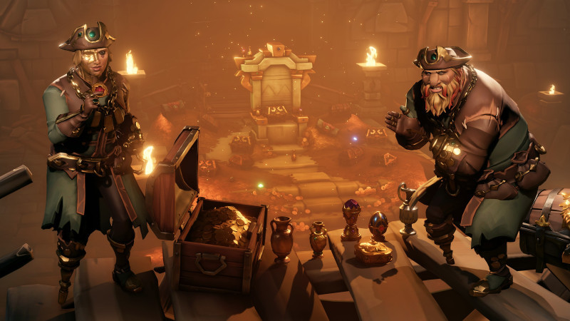 Ya está disponible la actualización gratuita de Sea of Thieves